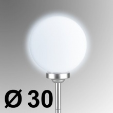 Gartenlampe Leutkugel Solarkugel Außenbeleuchtung Bild 1