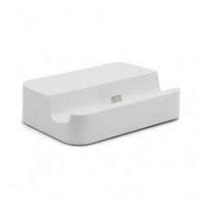 Universal Micro USB Cradle Dockingstation Tischladestation in Weiß für Smartphone Handy von System-S Bild 1