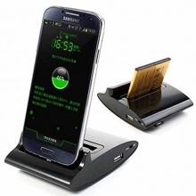 Mobile24 Samsung Galaxy S4 I9500, I9505, I9502 3 in 1 OTG, Handy, Dockingstation, Tischladestation, Ladegerät von MTP- Products Bild 1