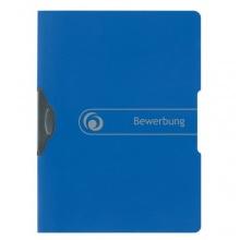 Herlitz 11206638 Express-Clip 5er Pack A4 PP Bewerbung blau Bild 1