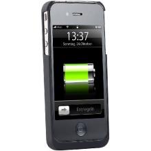 QI-Induktions-Ladestation mit Ladehülle für iPhone 4/4s von Callstel Bild 1