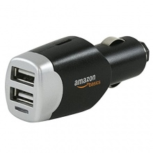 Dual-USB-Kfz-Ladegerät, für Apple- und Android-Geräte, 4,0 A von AmazonBasics Bild 1