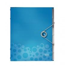 Leitz Ordnungsmappe Bebop A4, Pp, Blau Bild 1