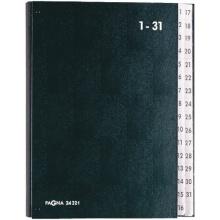 Pagna Pultordner 1-31 32-teilig schwarz Bild 1
