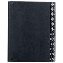 Herlitz 10421402 Pultordner A-Z schwarz Bild 1
