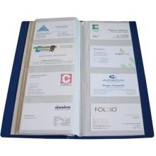 HFP Visitenkartenbuch für 240 Karten blau Bild 1