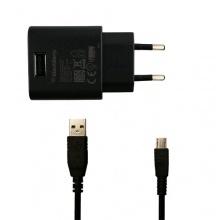 9780 Bold Ladekabel ASY-44303-002 + ASY-18685-001 Netzteil Ladegerät + Datenkabel MicroUSB von Blackberry Bild 1