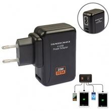 5V 5A Multi-Port USB Ladegerät Adapter Steckdose Stromadapter Lader Netzteil Haus fr Samsung Galaxy Tab/iPhone/iPad 4-Port von Tomeasy4u Bild 1