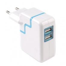 USB 2 Port Netzgerät für alle Smartphone, Handy, Tablet PC von Tinxi Bild 1
