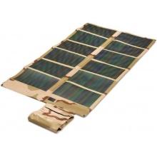 Solar Charger Set 62 Wp (Solarmodul flexibel und faltbar Farbe desert) mit Solarladegerät M60 (Ausgang USB/12V KFZ-Buchse) von Sunload Bild 1