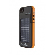 Ultra leichte und hochwertig Akku & Solar-Ladehülle für iPhone 5/5S von EnerPlex Surfr Bild 1