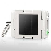 Solar Mini Ladegerät Mobiles USB Solar Ladegerät Modul in weiß von ClicLite Bild 1