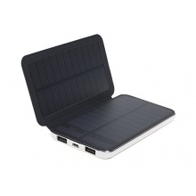 Tragbare Aufladbare Solar Batterie Power Pack 10000mAh Outdoor Notfall Ersatz Power Bank Akku Ladegerät für diverse Smartphones von AFISC Bild 1