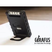 Solar Ladegerät LED Lampe 3000mAh Zusatzakku Power Bank Batterie Iphone Handy von Girafus Technologies Bild 1