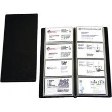 Staples Visitenkartenalbum f.96 Karten schwarz Bild 1