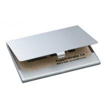 Sigel VZ135 Visitenkarten-Etui, silber, matt Bild 1