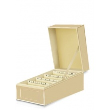 Semikolon Visitenkartenbox in chamois (beige) Bild 1
