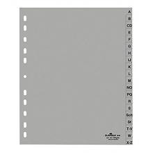 Durable Ordnerregister DIN A4, A-Z, grau, 1 Stück Bild 1