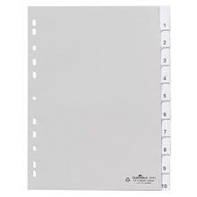 Durable 644110 Blanko-Register aus PP Bild 1