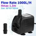 Tauchpumpe Pumpe bis zu 1000L/H Bild 1