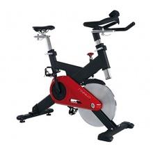 Fitnessgerät Heimtrainer Cycle Speedbike CRT schwarz Fitnessbike rot von Finnlo Bild 1