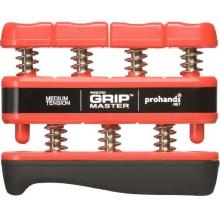 Fingertrainer Gripmaster medium, Red Handtrainer von ProHands Bild 1