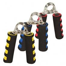 Handmuskeltrainer / Fingerhantel / Unterarmtrainer 3 verschiedene Stärken Gelb, Blau und Rot von POWRX von POWRX Bild 1