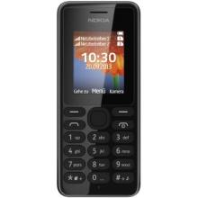 Nokia A00014805 108 Block Handy 1,8 Zoll QQVGA-Display, Dual-SIM schwarz Bild 1