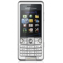 Sony Ericsson C 510 radiation silver Handy Bild 1
