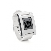 Pebble 301WH Smart Watch weiss Bild 1