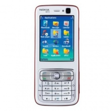 Nokia N73 plum silber UMTS Block Handy Bild 1