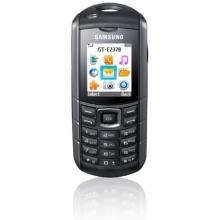 Samsung E2370 Block Handy schwarz silber Bild 1