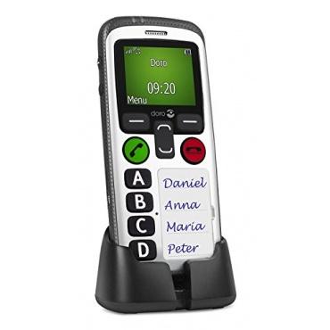 Doro Secure 580 GSM Kinderhandy 4 Kurzwahltasten, schwarz-weiß Bild 1