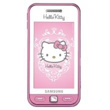 Samsung Star S5230 Hello Kitty Edition S5230 Kinderhandy  3 Zoll Display,Touchscreen,3 Megapixel Kamera white pink  Bild 2