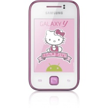Samsung S5360 Galaxy Y Hello Kitty Kinderhandy3 Zoll Touchscreen, 2 Megapixel Kamera Bild 1