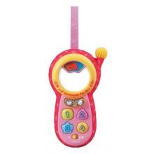 VTech Baby 80 111354 Tierfreunde Kinderhandy, rosa Bild 1