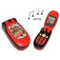 elektrisches Handy mit SOUND Disney Cars Lightning McQueen  Kinderhandy Bild 1