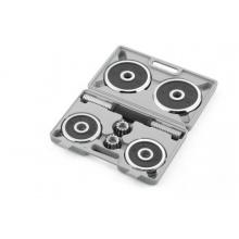 Kurzhantel-Set Chrom-Gummi, silver/black, 10 kg von Kettler Bild 1