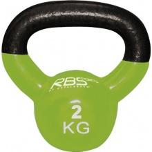 Kettle Bell Gusseisen Hantel grün 2 kg von Royalbeach Bild 1