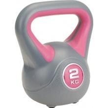 Kettlebell 2kg rosa von PWSports Bild 1