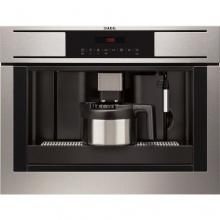 AEG PE4511-M Einbau Kaffeemaschine aus Edelstahl Kompakt Bild 1