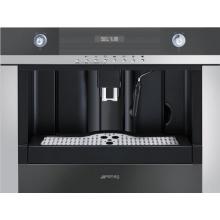 Smeg CMSC45NE Einbau Kaffeemaschine in Schwarz Bild 1