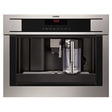AEG PE4571-M Einbau Kaffeemaschine aus Edelstahl Bild 1