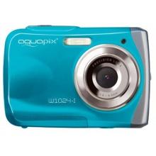 Easypix Aquapix W1024-I Unterwasserkamera 10 Megapixel eisblau Bild 1