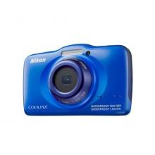 Nikon Coolpix S32 Unterwasserkamera 13 Megapixel blau Bild 1