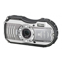 Ricoh WG-4 EU wasserdichte Unterwasserkamera 16 Megapixel silber Bild 1