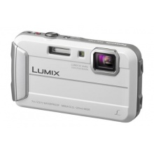 Panasonic DMC-FT25EG-W Lumix Unterwasserkamera weiß Bild 1