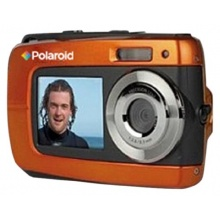 Polaroid IF045 14 Megapixel wasserdichte Kamera orange Bild 1