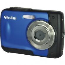 Rollei Sportline 60 Digitalkamera 5 Megapixel blau Bild 1