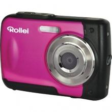 Rollei Sportsline 60 Digitalkamera 5 Megapixel rosa Bild 1